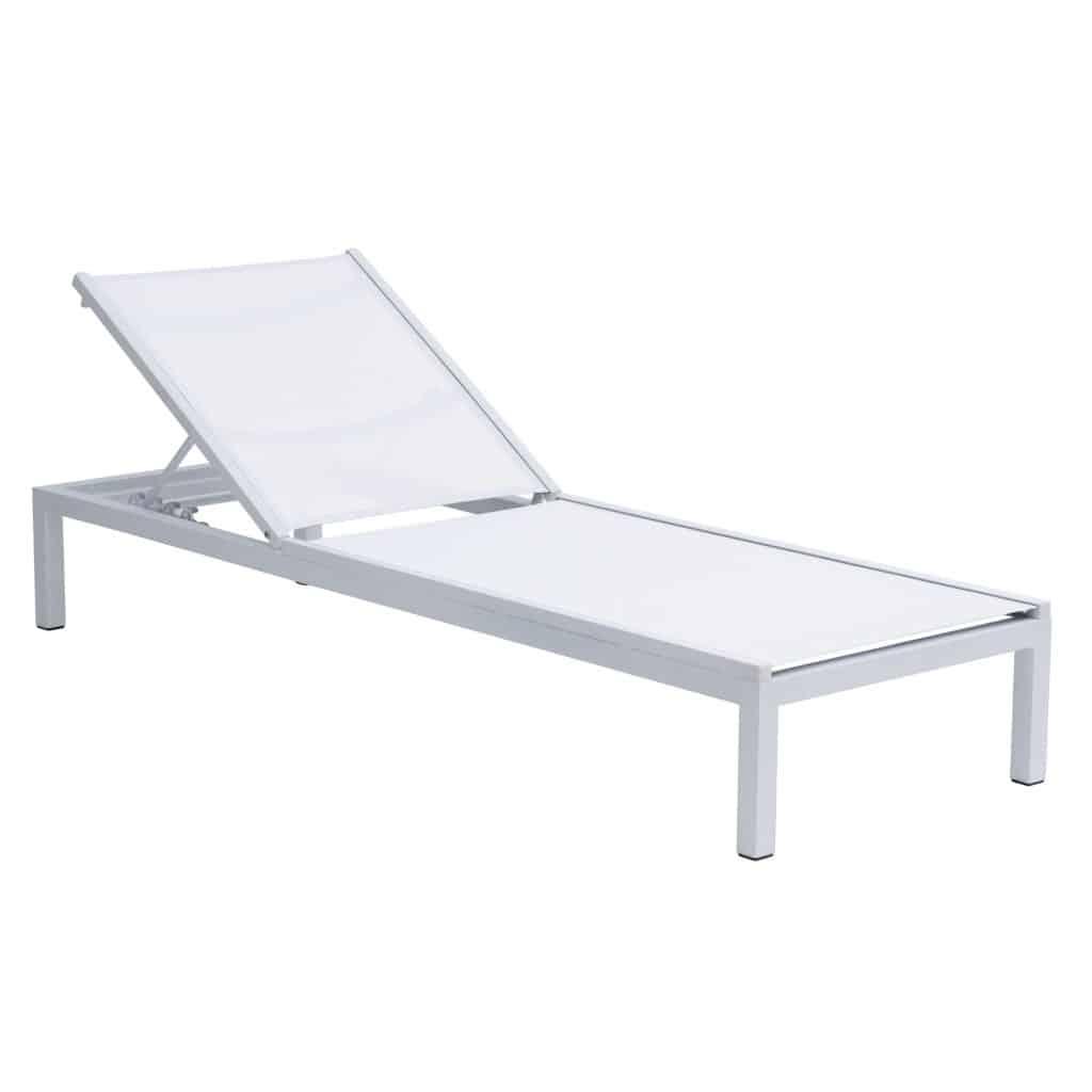 Niki Lounger Grey White