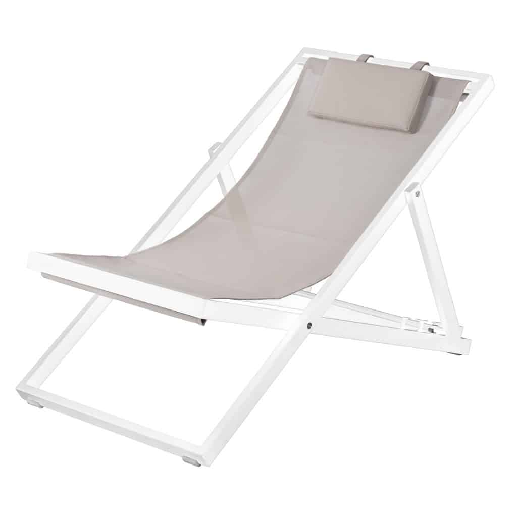 Newport Lounger Taupe