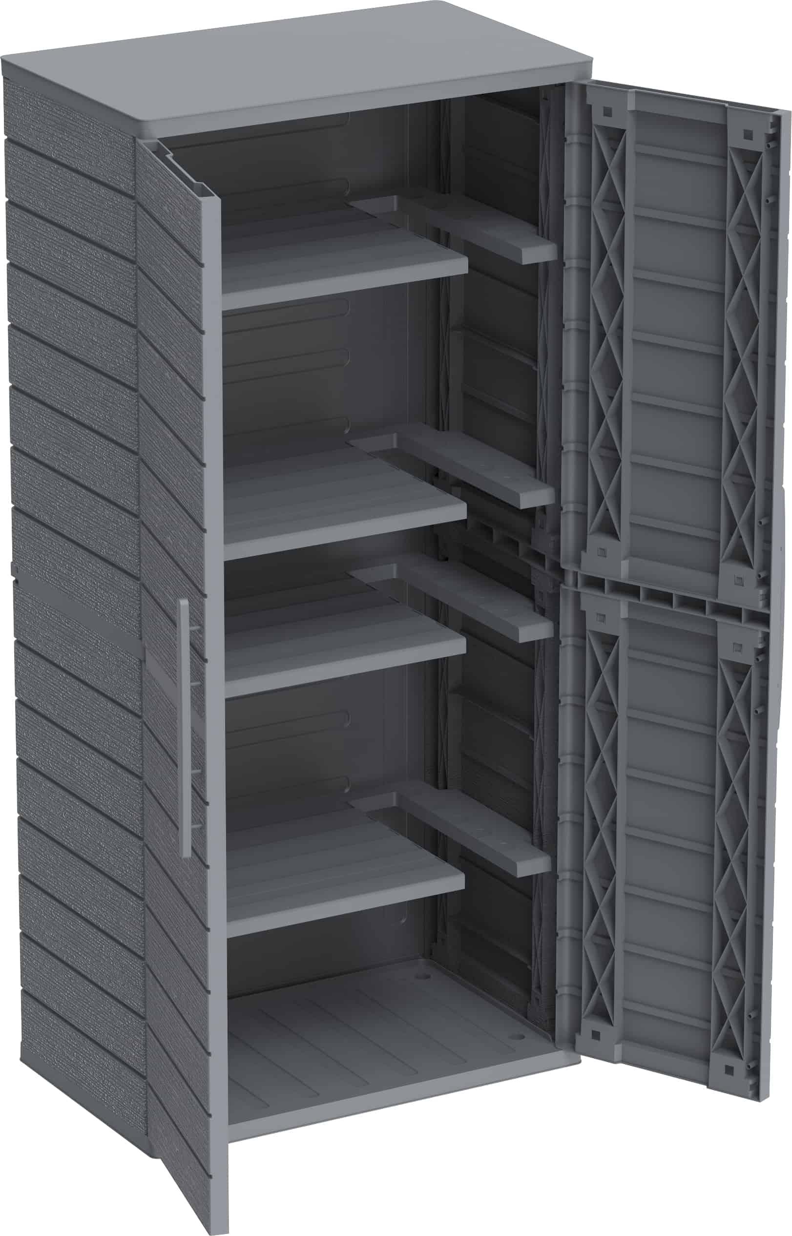 Cedar Grain Vertical Cabinet Tall A