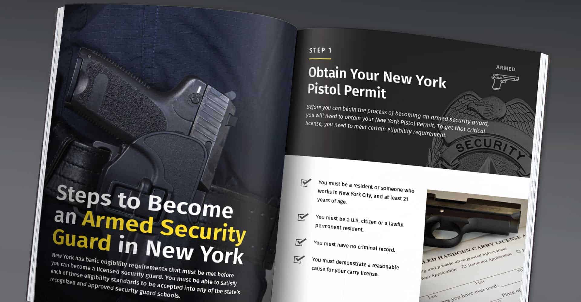 How to become a security guard in New York State
