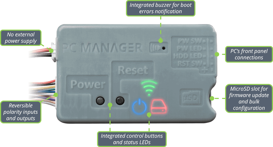 PC Manager Features