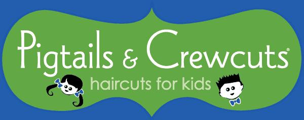 Pigtails & Crewcuts Logo