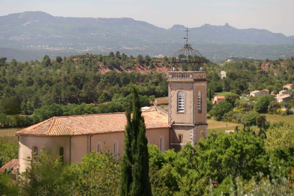 Saint-Pons Church in Puyloubier