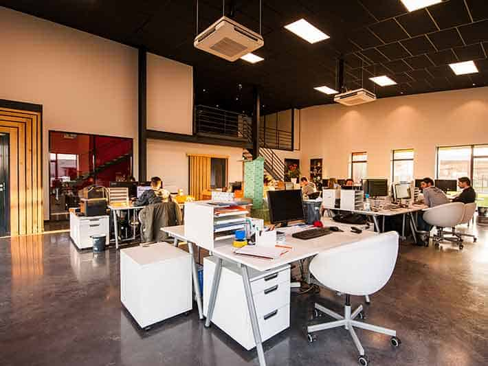 Co-working helps reduce paper waste in the office