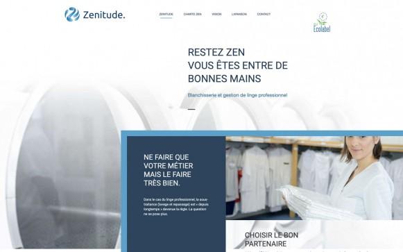 Capture d'écran du site Zenitude