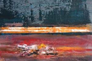 Osama Said, Untitled, 2020, oil on canvas, 24 x 30 cm