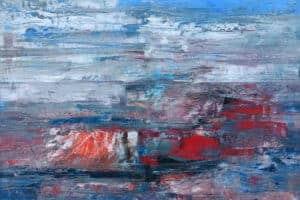 Osama Said, Untitled, 2020, oil on canvas, 50 x 70 cm