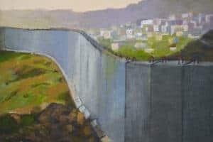 Unnatural Landscape Khaled Hourani Palestine