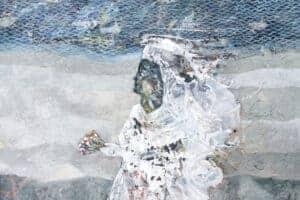 Tayseer Barakat, Shoreless Sea #15, 2019, acrylic on canvas, 70 x 50 cm