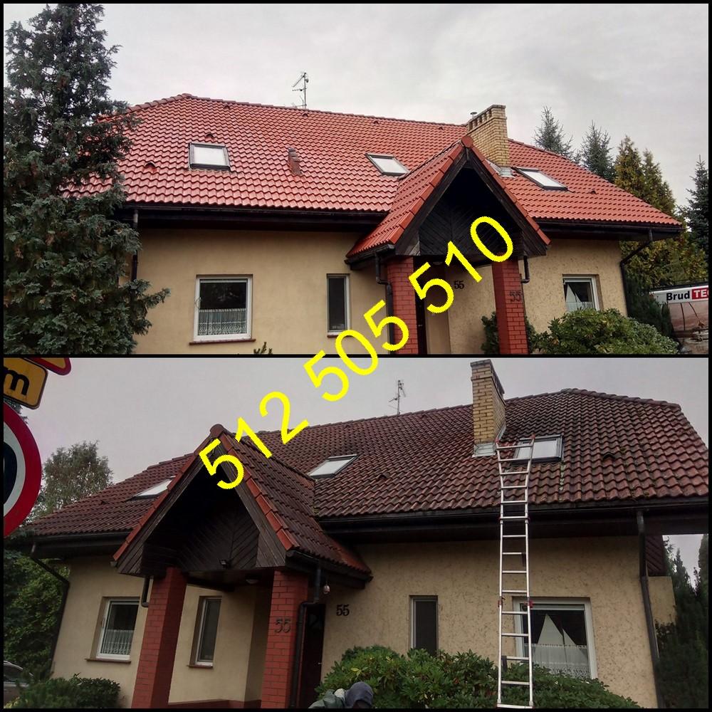 Czyszczenie dachów Szczecin