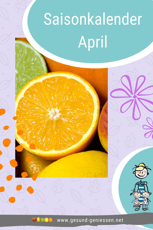 Pin Saisonkalender April