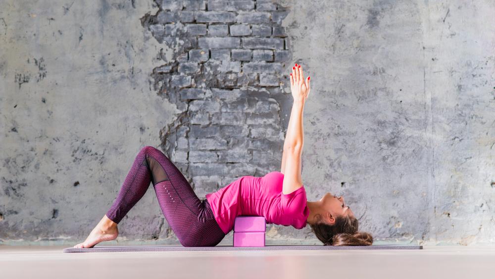 vrouw beste yogablok