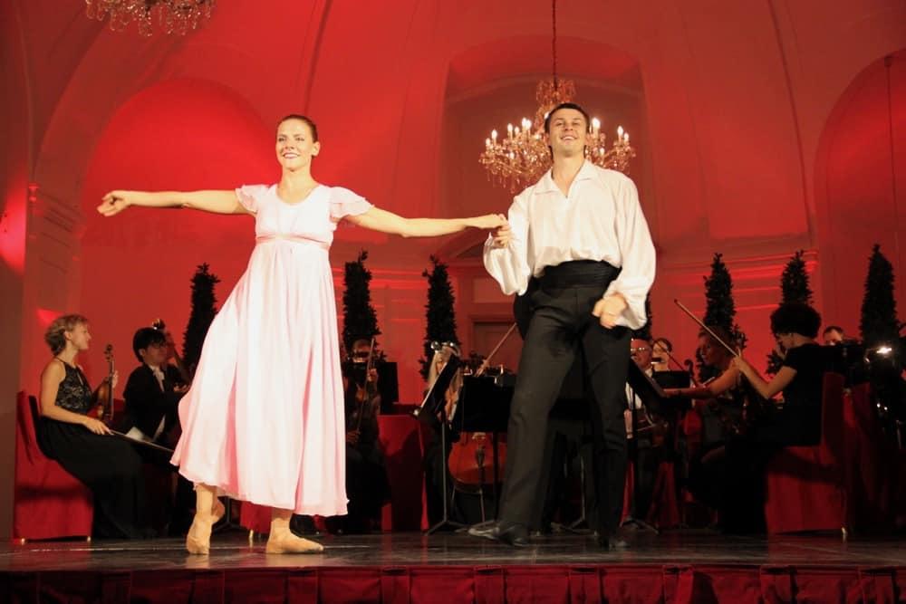 Concert at the Schonbrunn Palace Vienna