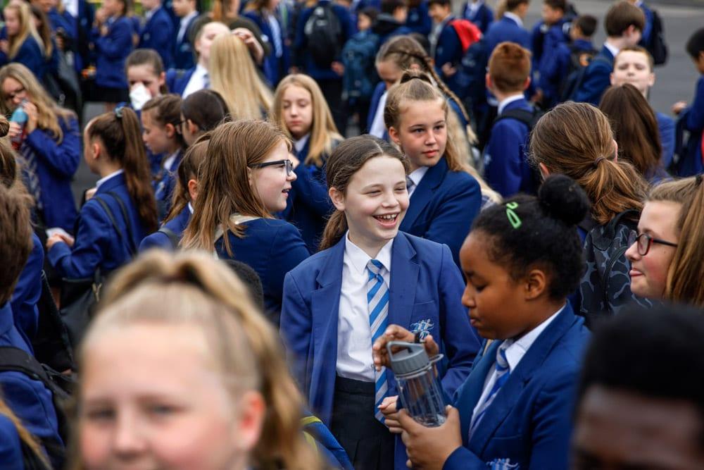 Commercial Photographer Manchester photo of school prospectus