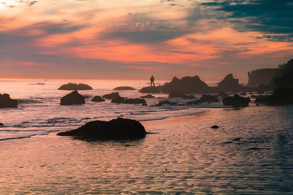 Sunrise photography ocean