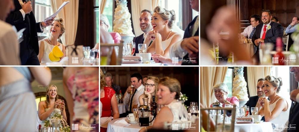 Wedding party speeches