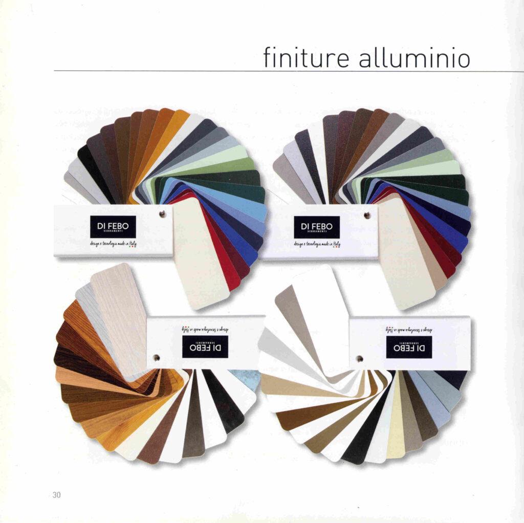 legno alluminio colori alluminio