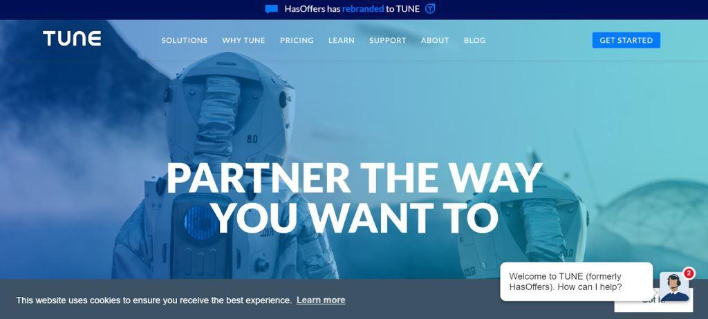 TUNE Affiliate Marketing Tool