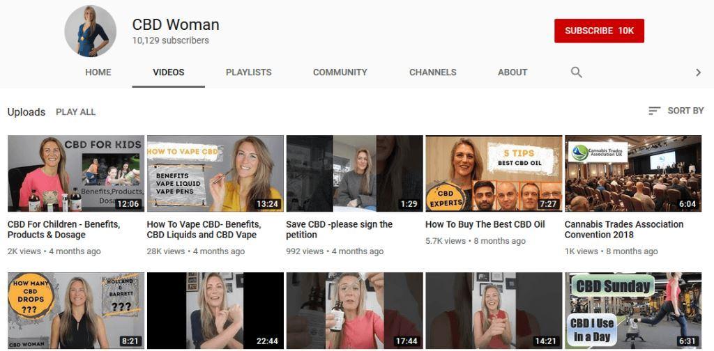 Rachael-YouTube-CBD-Influencer