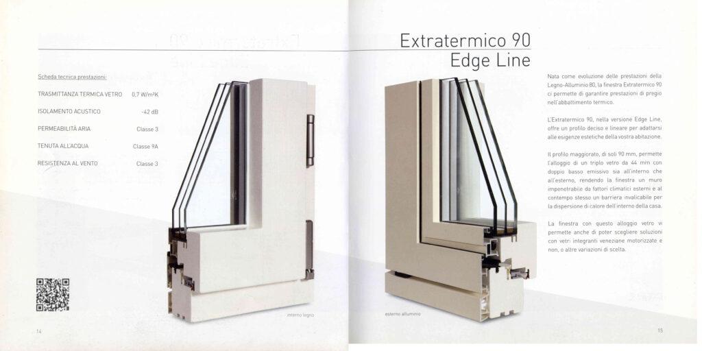finestra legno alluminio da cataloco benfatto