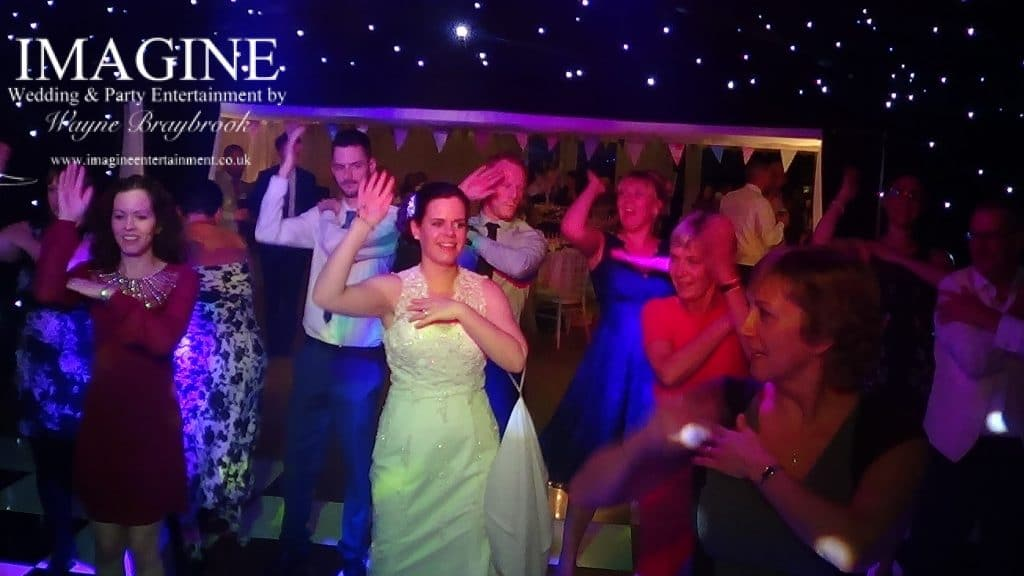 Wedding reception at Old Hall Ely