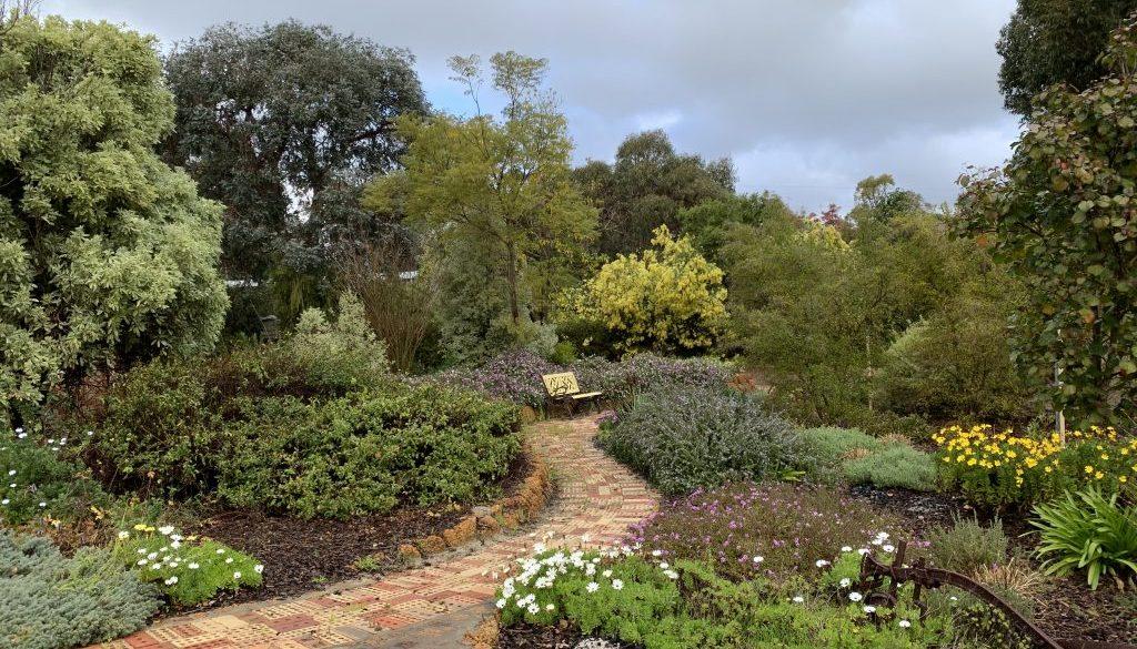 Stoneridge paths garden beds