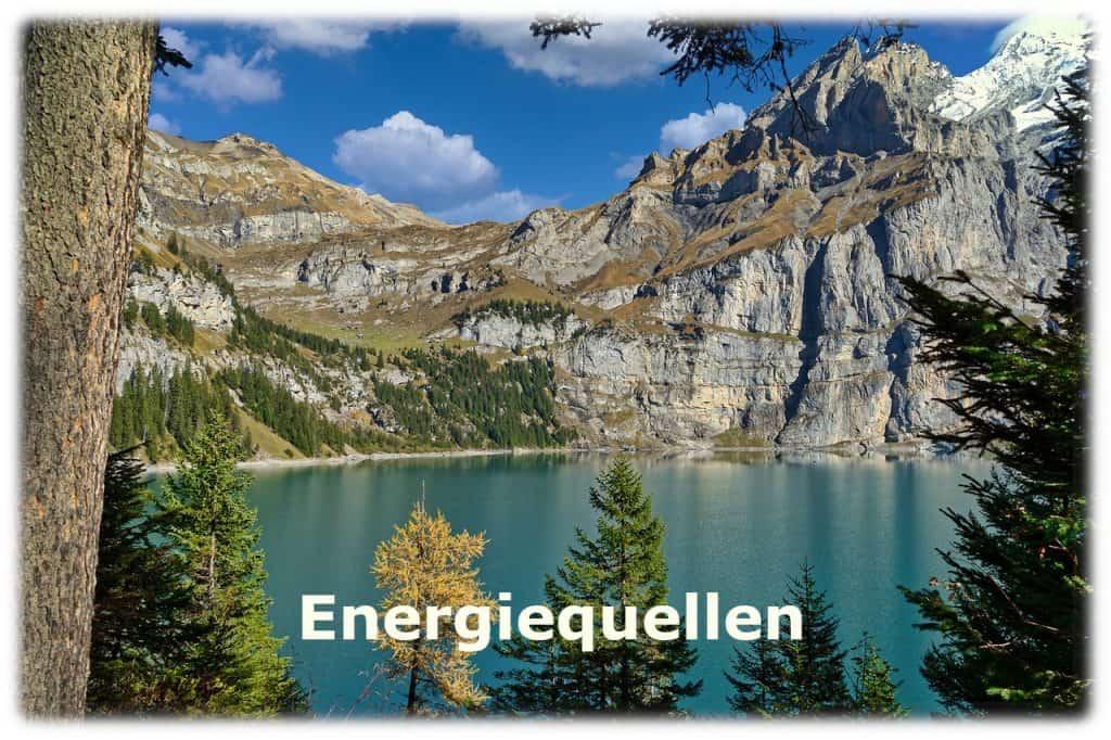 Energiequellen, am Öschinensee