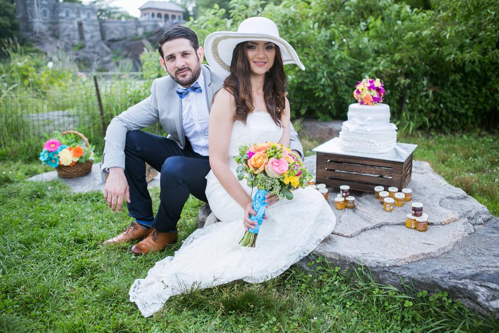 Photo 14 Wedding at Belvedere Castle in Central Park | VladLeto