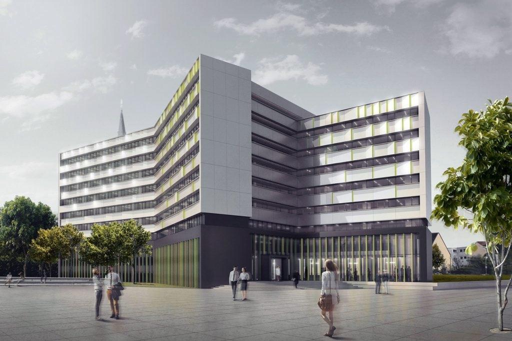 Fassade Rathaus Heidenheim