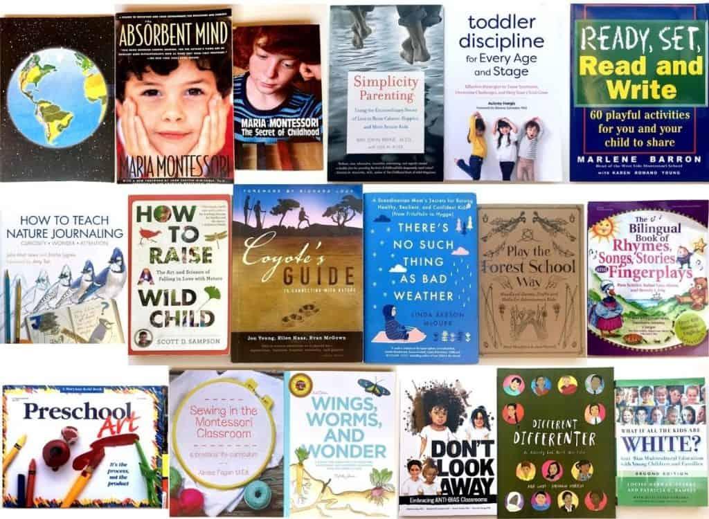 Montessori Primary Curriculum Books for Various Subjects