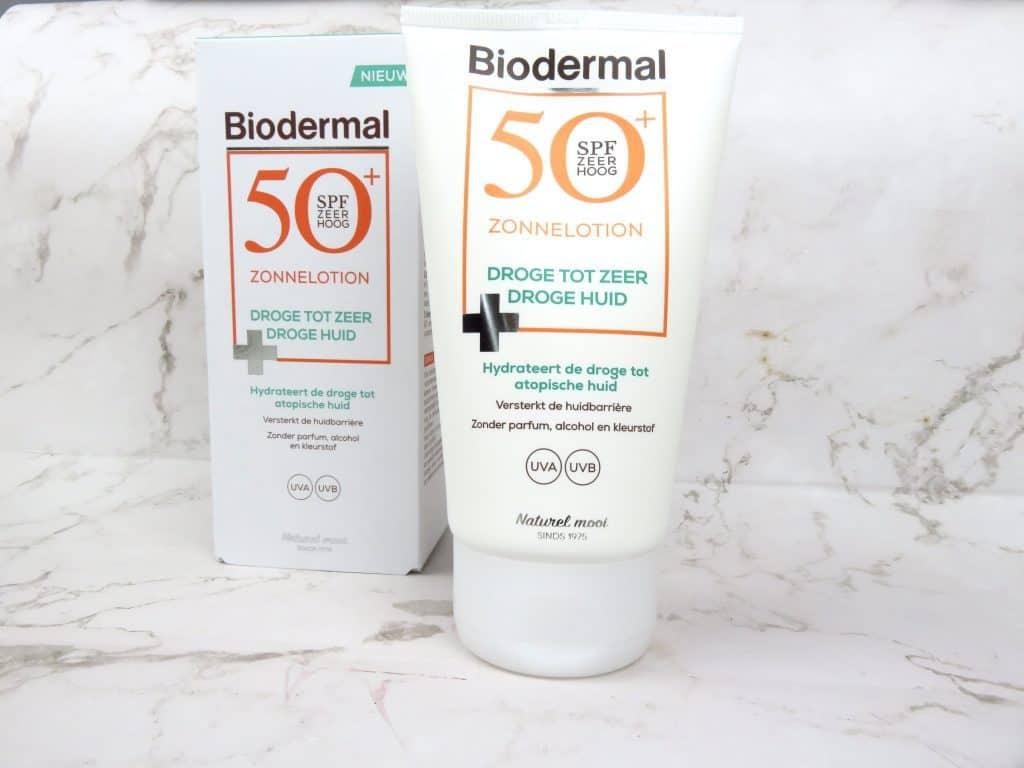 Biodermal zonnelotion droge tot zeer droge huid