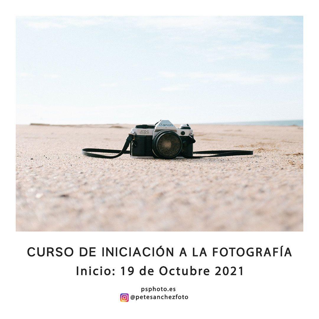 curso iniciación fotografía octubre 2021