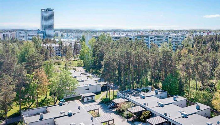 Vuosaari on merellinen osa Helsinkiä