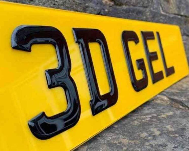 Now Stocking Carbon Fibre & 3D Number Plates