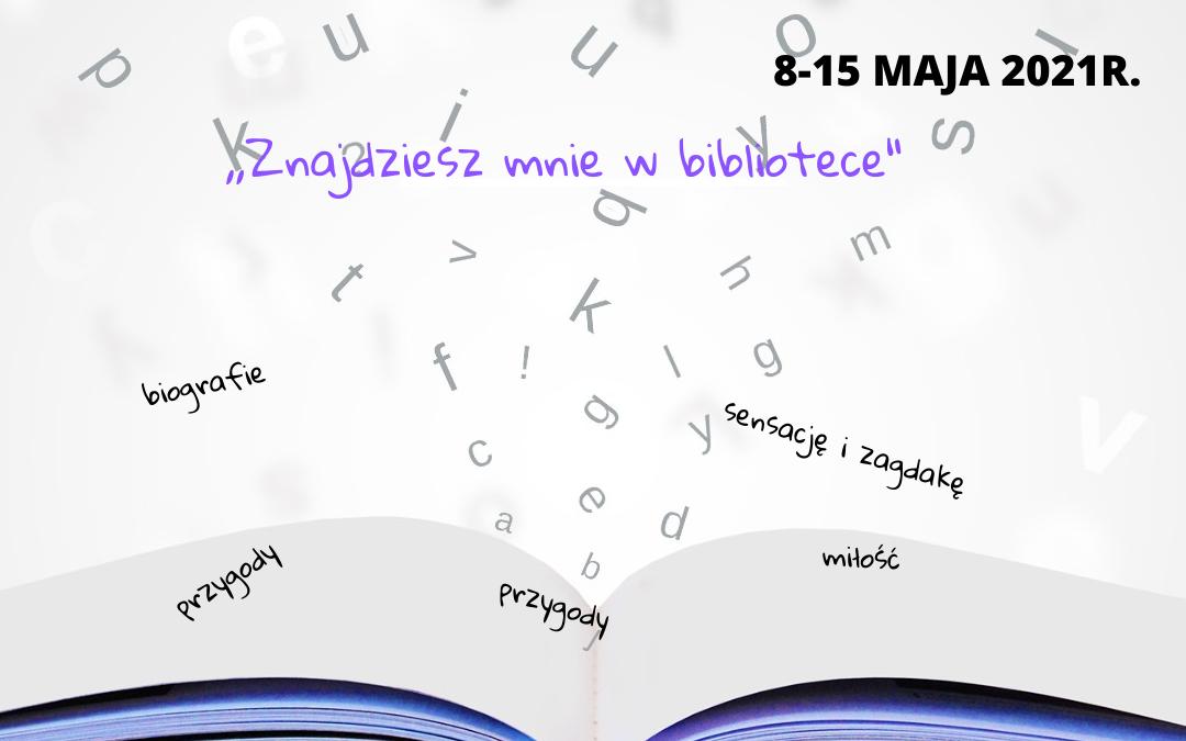 XVIII Ogólnopolski Tydzień Bibliotek