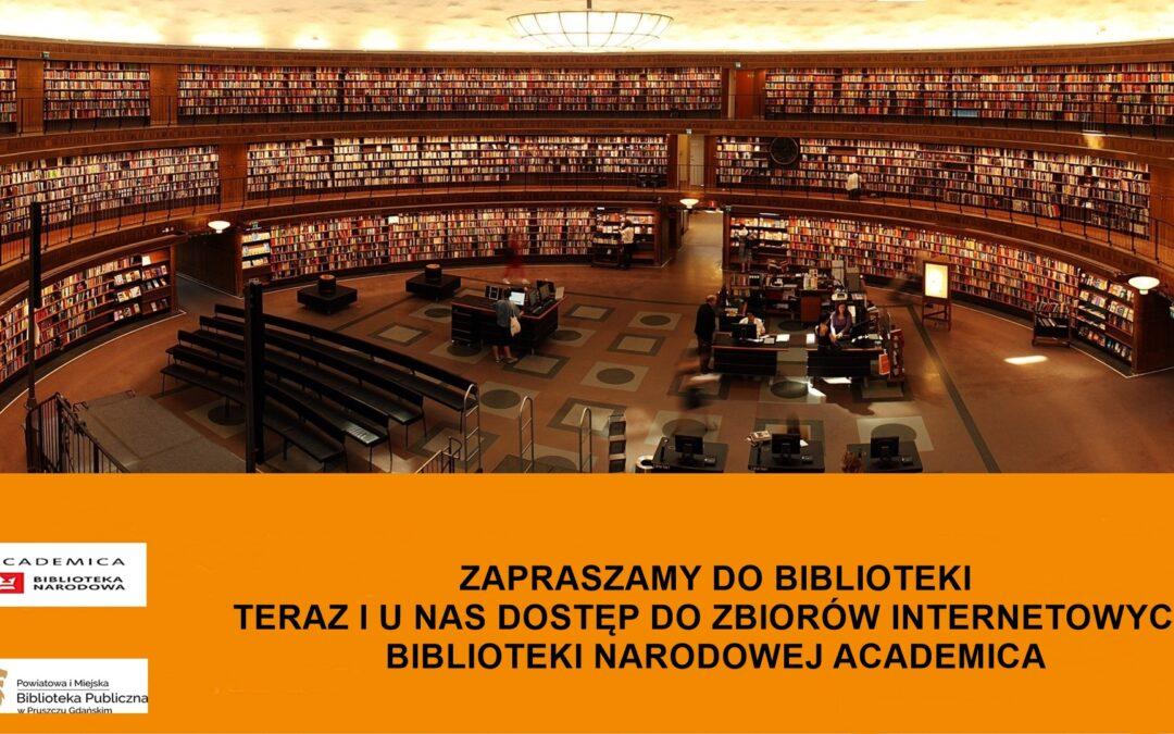 Tysiące książek i czasopism naukowych teraz i u nas
