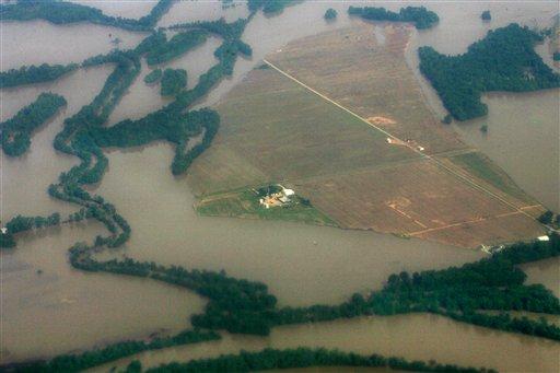 Corn, flooding, climate change.