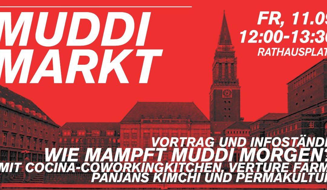 Verture Farm trifft Muddi Markt auf der Kieler Woche!