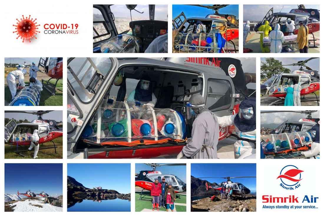 Air Ambulance for COVID-19