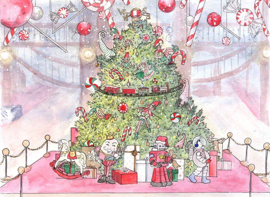 frederickandsophie-diaryofacitymom-happy-holidays-elf_on_the_shelf-christmas