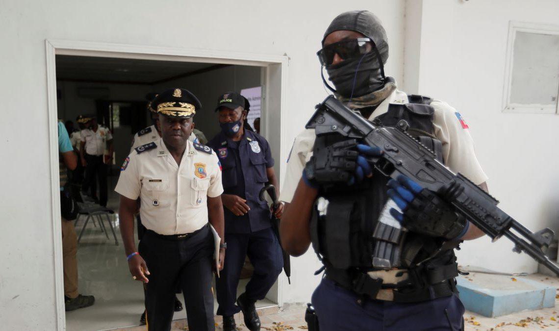 Leon Charles, jefe de la Policía de Haití