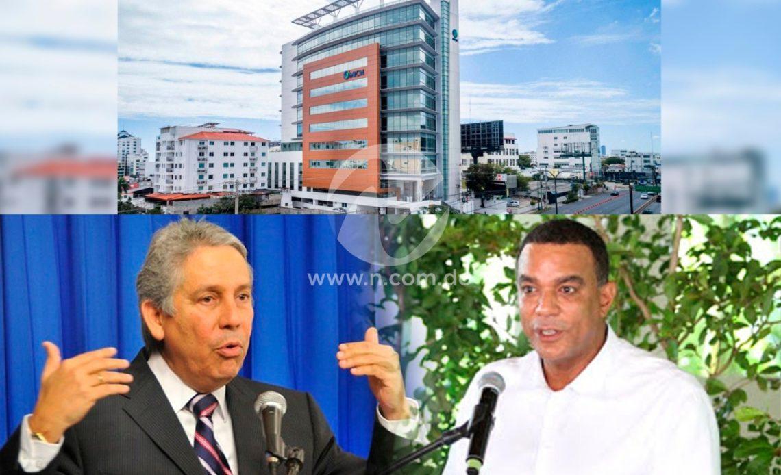 Freddy Pérez y senador Carlos Gómez