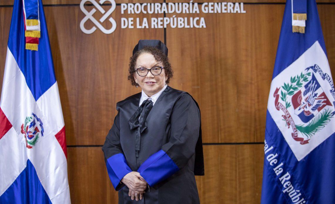 Miriam Germán Brito, procuradora general de la República.