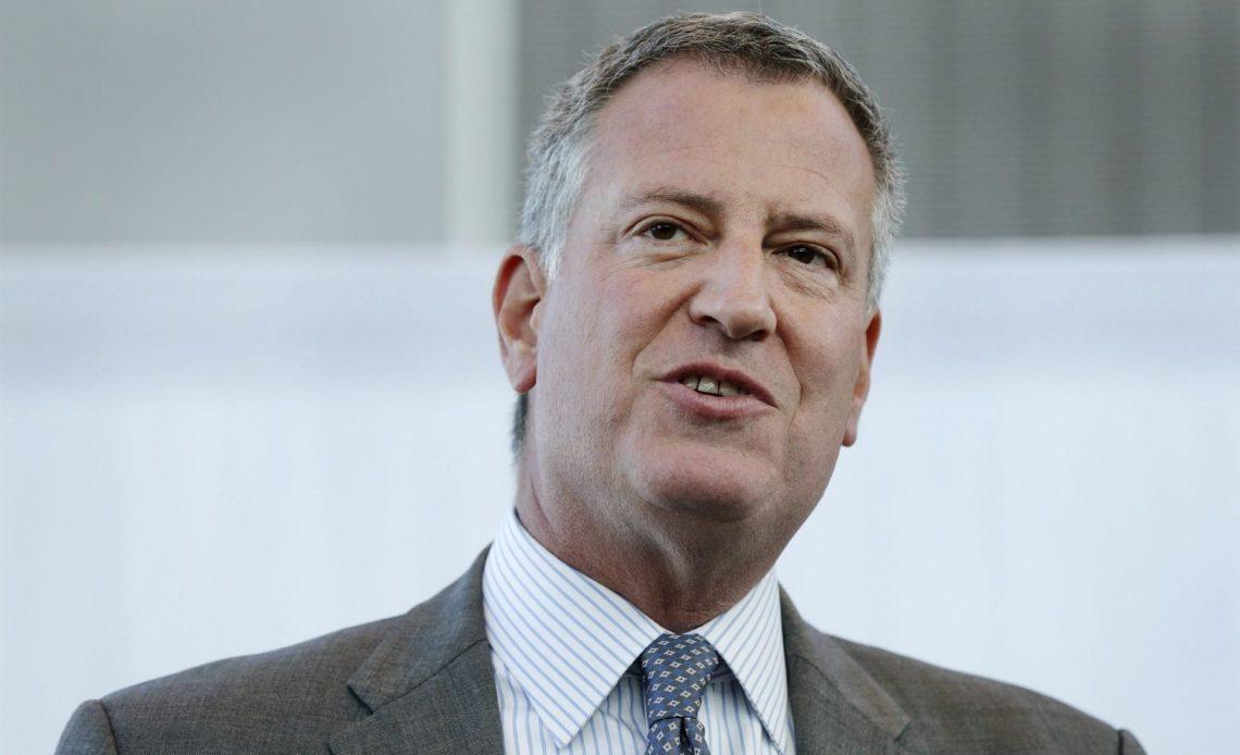 alcalde de Nueva York, Bill de Blasio,