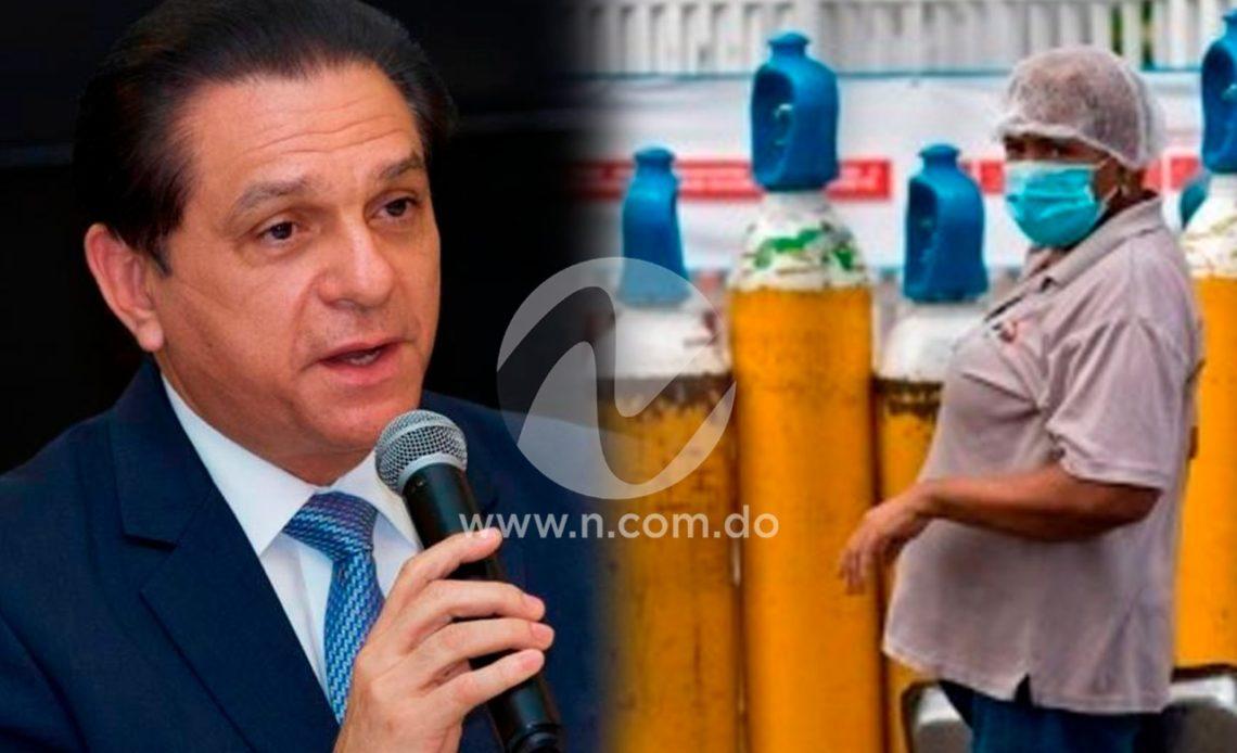 Daniel Rivera garantiza oxígeno