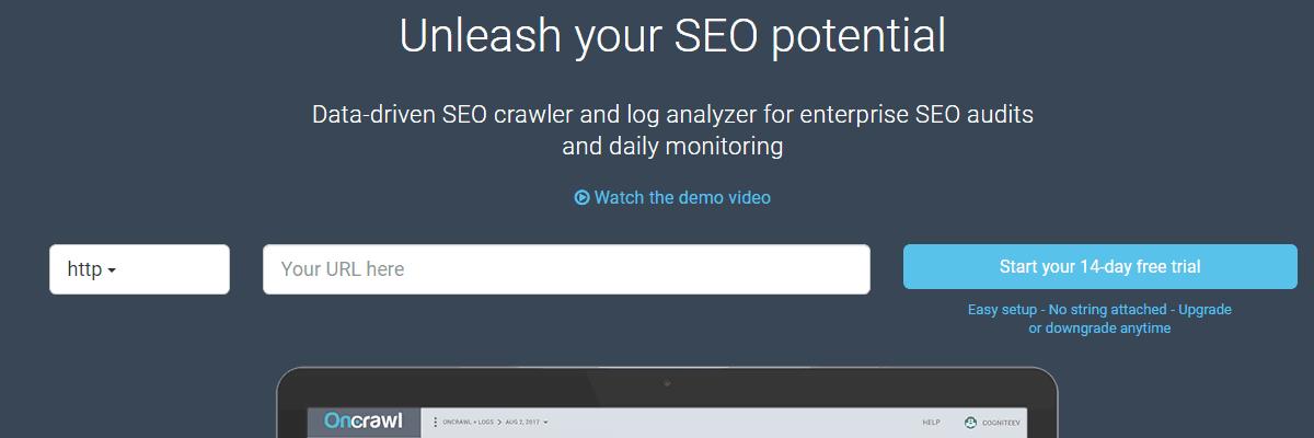 OnCrawl - Best Seo Audit Tool