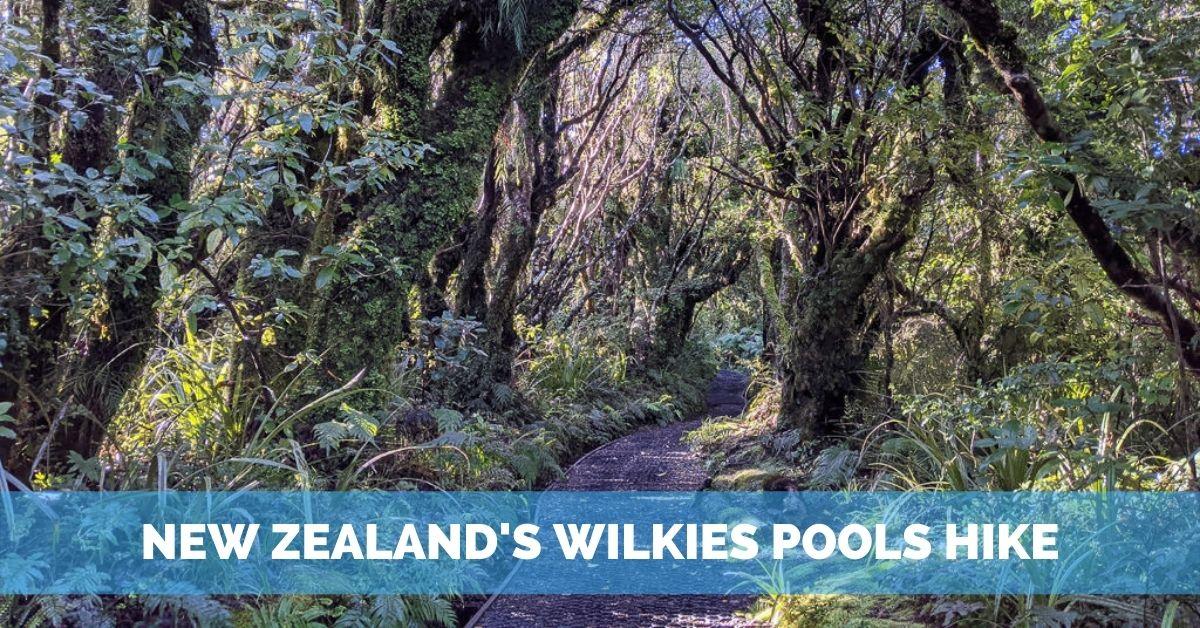 wilkies pools in mount taranaki new zealand