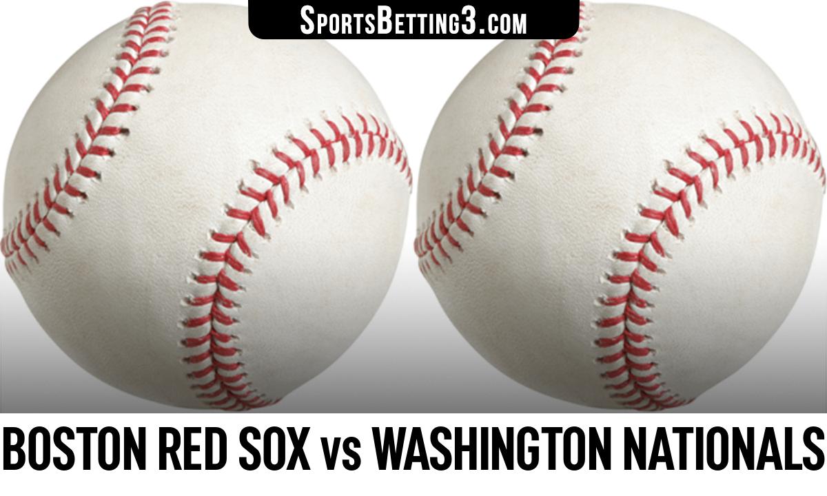 Boston Red Sox vs Washington Nationals Betting Odds