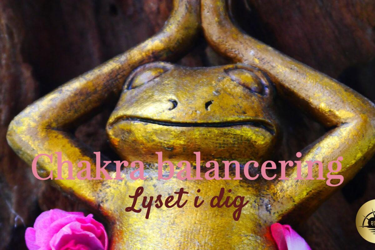 chakra balancering meditation
