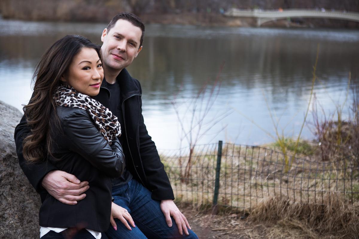 Photo 6 Secret Proposal near Bow bridge, Central Park | VladLeto
